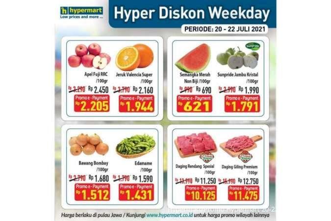 Promo Hypermart weekday 22 Juli 2021, ada program Hyper Diskon!
