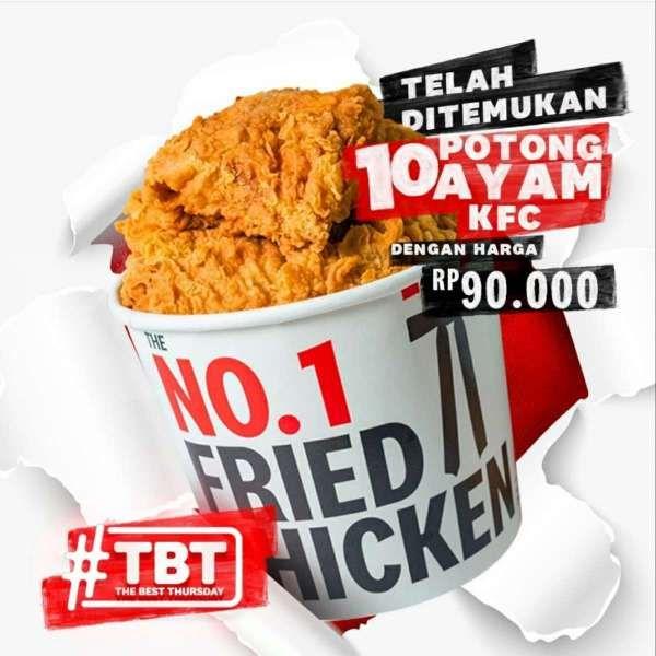 Promo KFC TBT