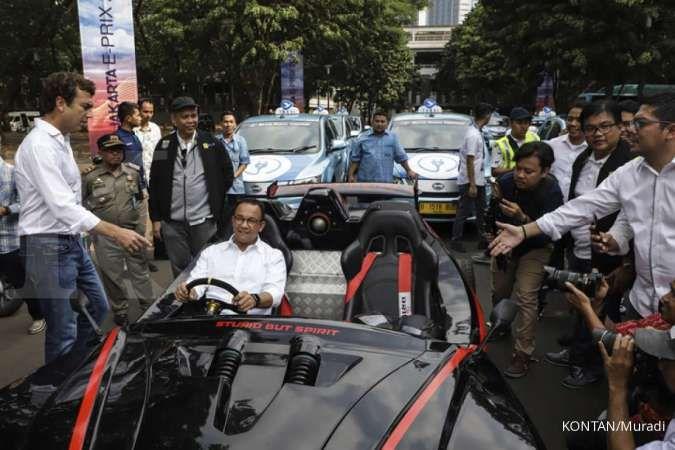 Anies akan beri keringan pajak dan parkir bagi pemakai kendaraan listrik di DKI