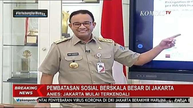 Anies: Persebaran Covid-19 di Jakarta sebagian besar terjadi di pasar