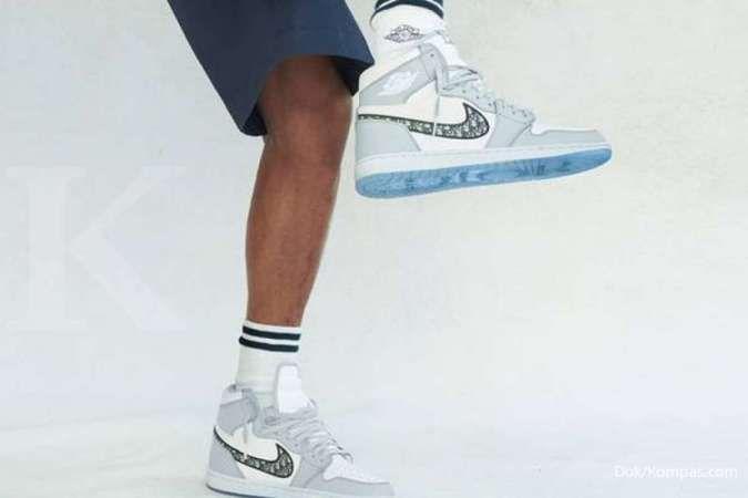 Air Jordan 1 x Dior hanya dirilis 8.500 pasang