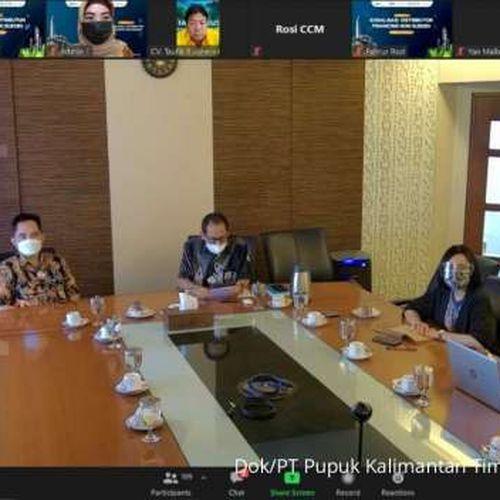 Pupuk Kaltim Hadirkan Fasilitas Pendanaan bagi Distributor Pupuk Non Subsidi di Indonesia