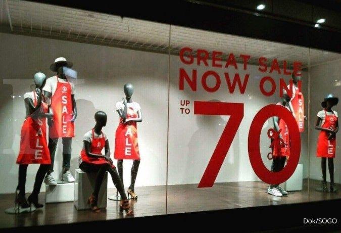 Sambut tahun baru Imlek 2021, SOGO Department Store hadirkan sejumlah promo penjualan