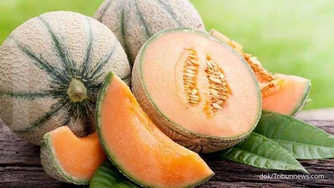 Ini manfaat buah melon untuk kesehatan bila dimakan secara rutin