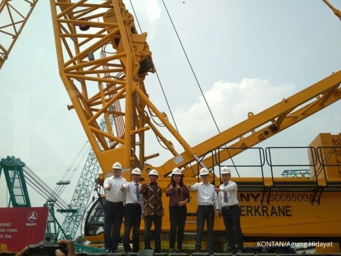 Tambah 21 crane baru, Superkrane (SKRN) sudah serap seluruh capex tahun ini