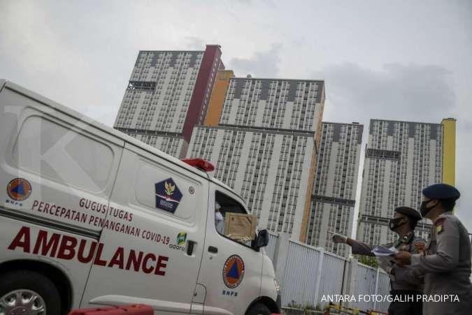 Tempat tidur isolasi di RS rujukan di Jakarta sisa 25%, ruang ICU sisa 17%