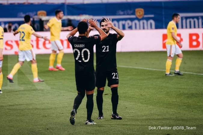 Rumania vs Jerman: Gol tunggal Serge Gnabry menangkan skuad Der Panzer 0-1