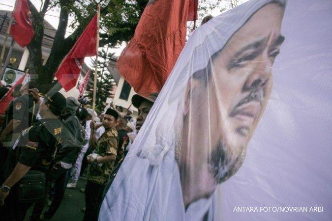 Akses tol menuju Bandara Soekarno-Hatta lumpuh jelang kepulangan Rizieq Shihab