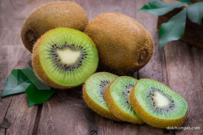 Ilustrasi. Jus kiwi bermanfaat sebagai obat diabetes melitus dan tekanan darah tinggi.