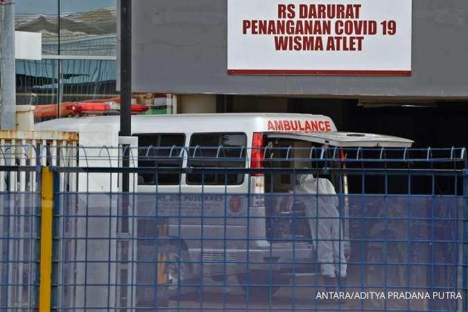Selasa (4/8), RSD Wisma Atlet Kemayoran rawat 1.396 pasien Covid-19