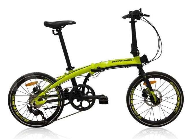 Baru lagi, harga sepeda lipat Element Ecosmo 10SP edisi Bike for Ibadah murah