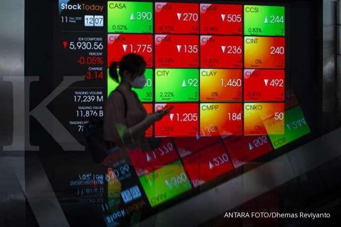 Intip saham-saham yang banyak dikoleksi asing saat IHSG turun Senin (3/5)
