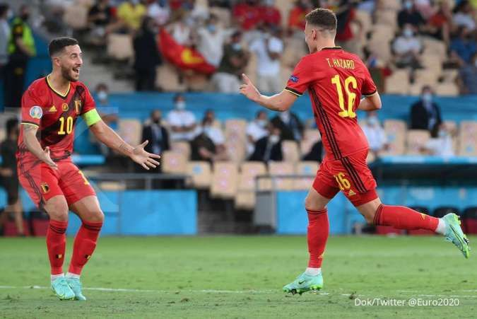 Hasil Euro 2020 Belgia vs Portugal: Tekuk Selecao 1-0, Setan Merah ke perempat final