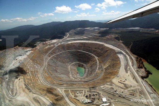 Produksi konsentrat Amman Mineral turun sekitar 7% di tahun 2019