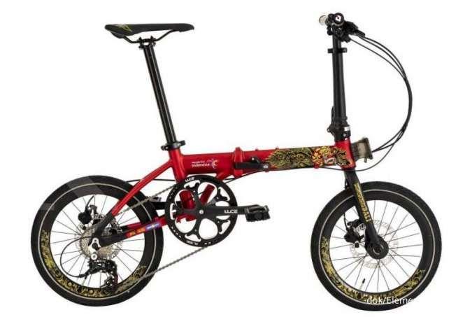 Edisi spesial nusantara! Harga sepeda lipat Foldx Xlite edisi Bali didiskon