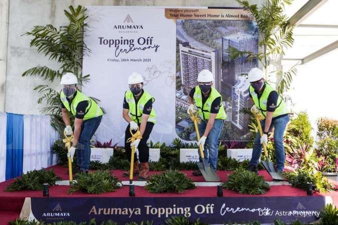 Astra Land: Serah terima unit Arumaya Residences pada tahun 2022