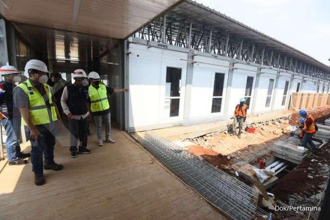 Pertamina targetkan RS Modular Tanjung Duren beroperasi Agustus 2021
