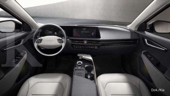 Filosofi desain terbaru pada mobil listrik Kia EV6