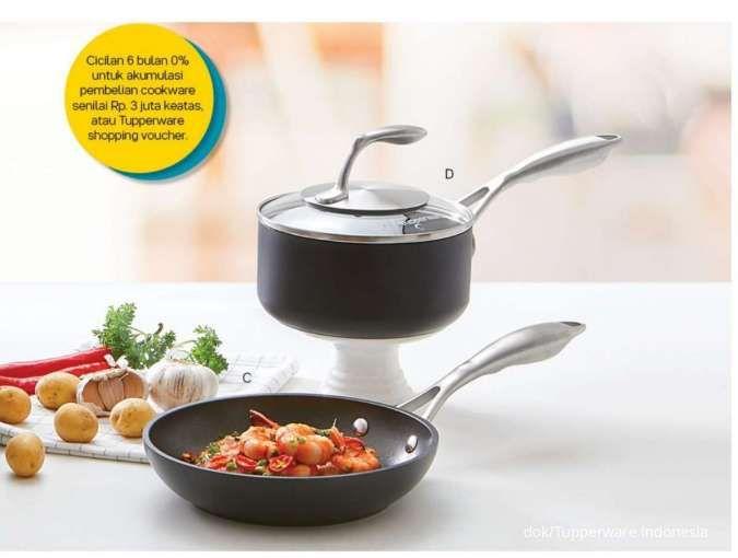 Ada voucher belanja di katalog promo Tupperware Oktober 2020 khusus alat memasak
