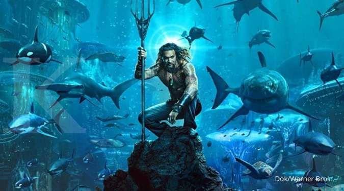 Film Aquaman 2 yang dibintangi Jason Momoa akhirnya umumkan judul sekuelnya