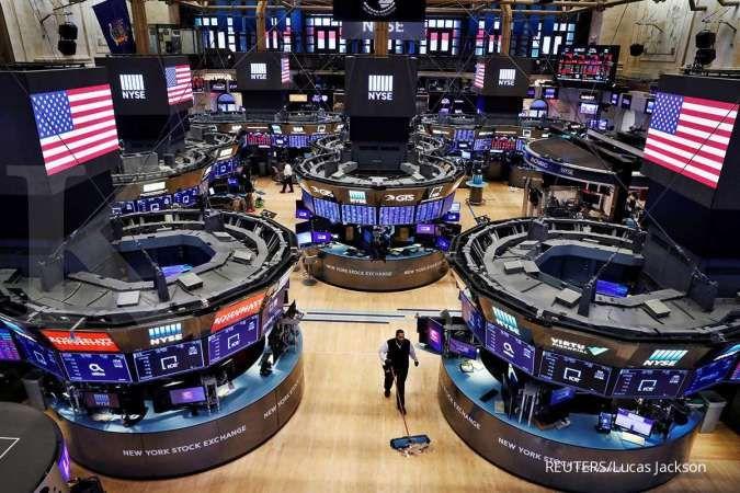 Wall Street menghijau, S&P 500 naik tipis karena investor melirik saham small caps