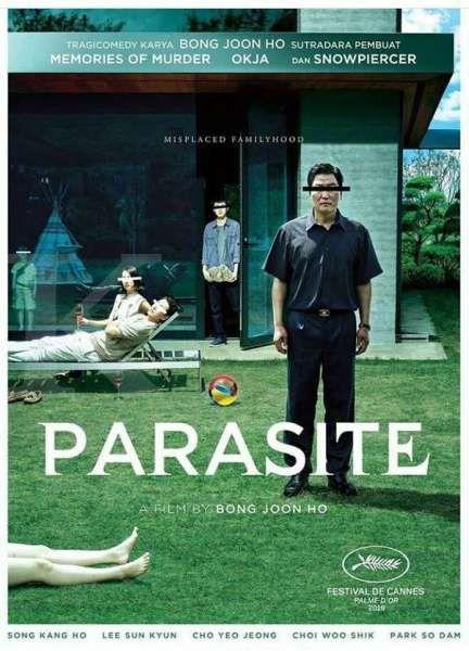 Poster Film Parasite (2019)