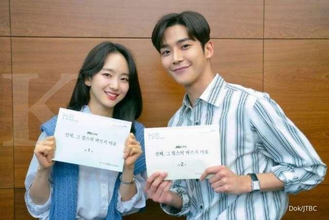 Drama Korea terbaru Rowoon & Won Jin Ah rilis poster romantis, siapkan kisah menarik