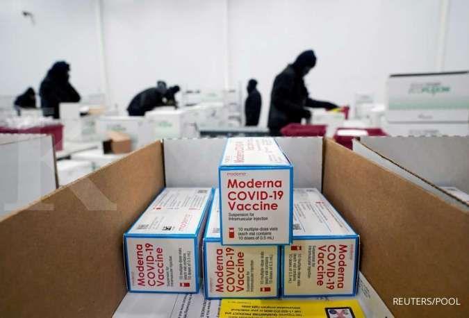 Moderna yakin vaksin buatannya mampu melawan varian virus corona baru