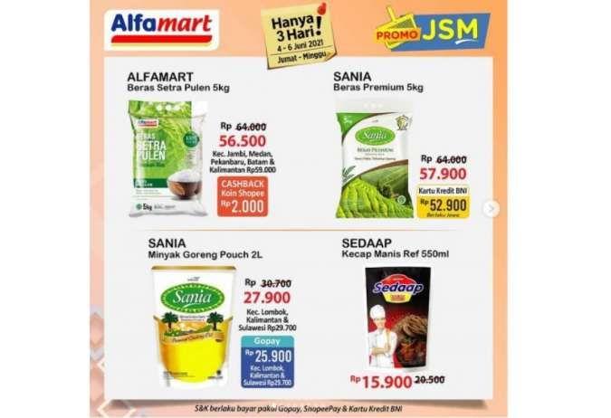 Promo JSM Alfamart 4-6 Juni 2021