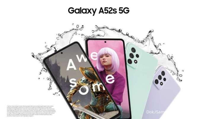 Diskon harga Samsung Galaxy A52s 5G yang baru tiba di Indonesia, cuma tiga hari