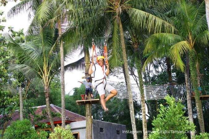 Tempat wisata baru di Tangerang, Taman Cicido punya banyak wahana outbound