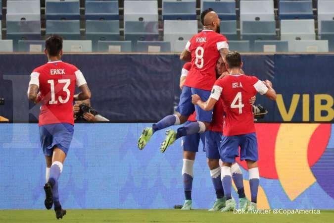 Jadwal Copa America 2021 Brasil vs Chile di perempat final