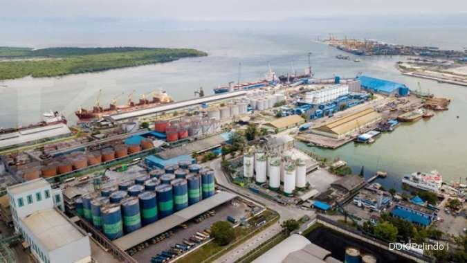 Pelindo I jalin keria sama dengan PT FKS Solusi Logistik di pelabuhan Belawan