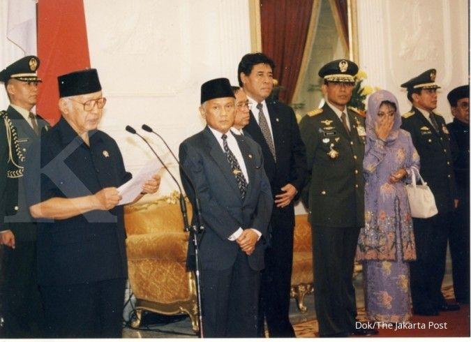 Hari ini dalam sejarah: Soeharto lengser dari kursi Presiden