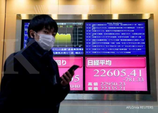 Minim sentimen, pergerakan Bursa Asia bervariasi pada pagi ini (14/6)
