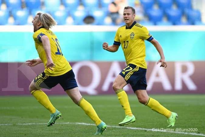 Jadwal Euro 2020 Swedia vs Polandia di Grup E