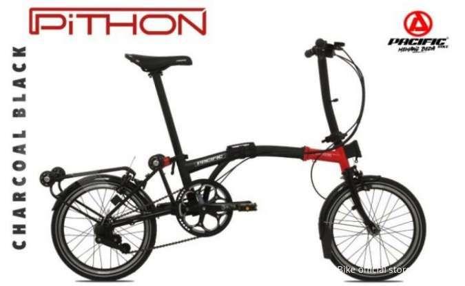 Desain 3 mode lipatan! Harga sepeda lipat Pacific Pithon Sporty tak terlalu mahal