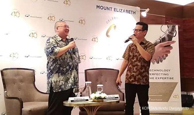 Setiap bulan ada 1.000 pasien Indonesia berobat ke RS Mount Elizabeth Singapura