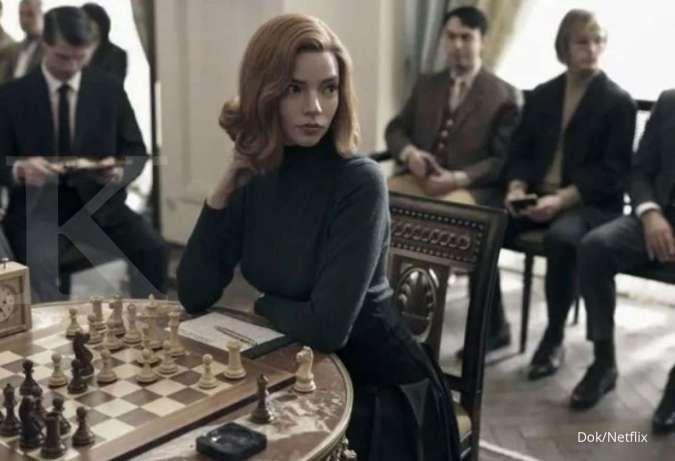Anya Taylor-Joy di The Queens Gambit Netflix