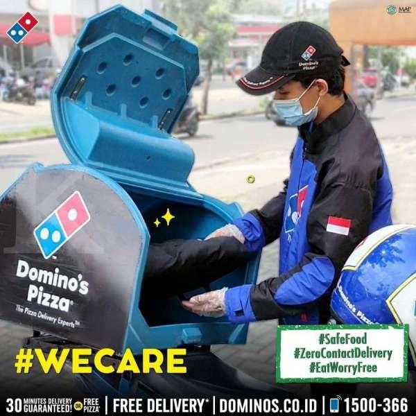Promo Domino's Pizza 'Cheesy Week', dapat dua pizza seharga Rp 90.000 saja!
