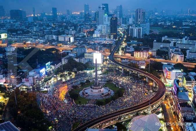 Liput aksi protes, Thailand hentikan siaran stasiun TV online
