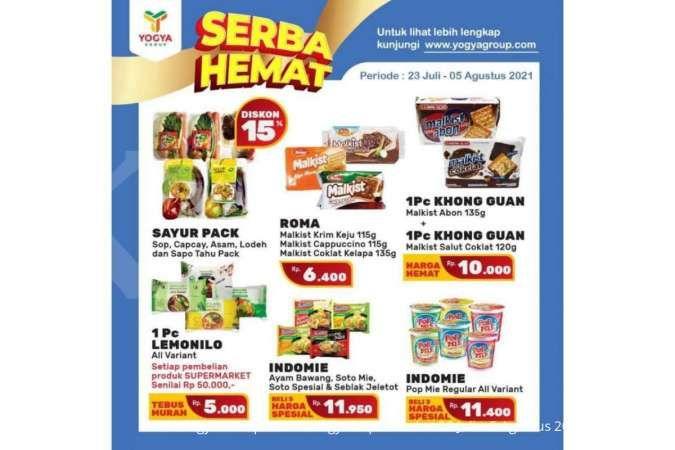 Promo Yogya Supermarket weekday