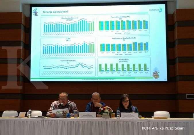 Volume overburden removal Delta Dunia Makmur tembus 301 juta bcm hingga September