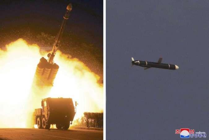 Panas! Korea Utara dan Korea Selatan sama-sama uji coba rudal balistik