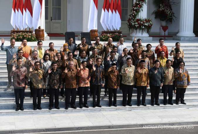 Ini daftar lengkap nama-nama menteri kabinet Indonesia Maju periode 2019-2024