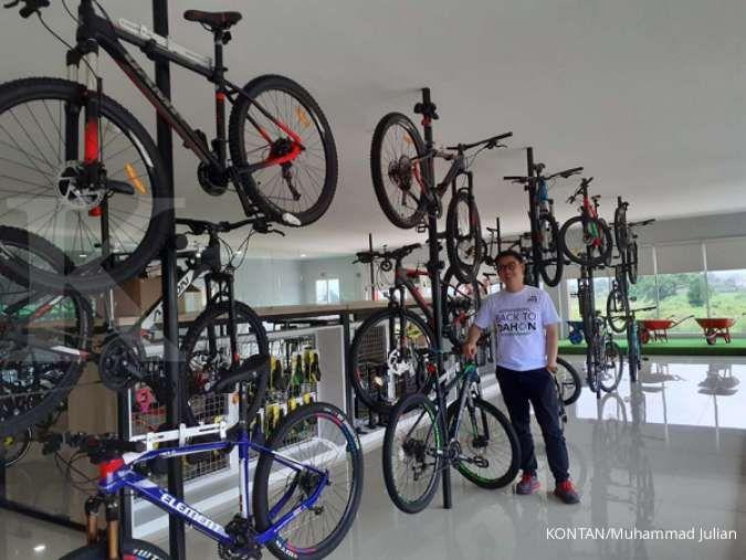 Lagi ngetren, sepeda lipat Element di bawah Rp 5 juta digandrungi masyarakat