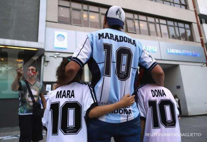 Diego Maradona meninggal dunia, ini penyebabnya
