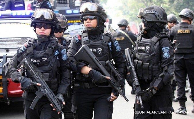 Amankan HUT RI, polisi siagakan Densus 88 dan ribuan personel di DKI