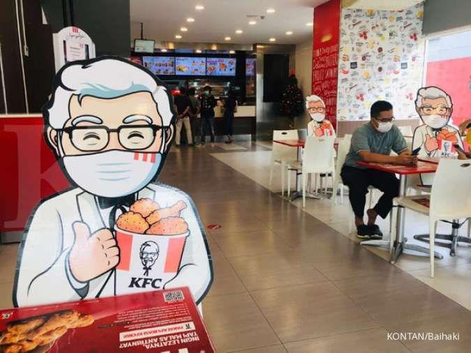 Promo KFC hari ini 20 Januari 2021, 5 potong ayam Rp 59.091