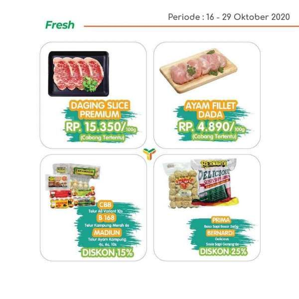 Promo Yogya Supermarket weekday 27 Oktober 2020, masih ada diskon!